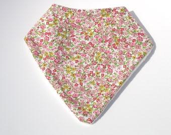 """Pink bandana """"anti-bavouille"""" liberty"""
