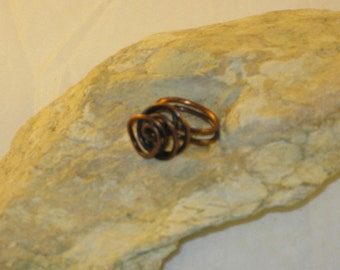 Free-form Copper Ring