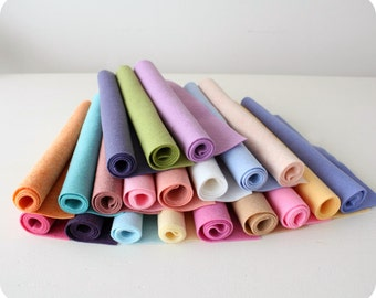 My Faves - Merino Wool Blend Felt 20 9x12 Sheets