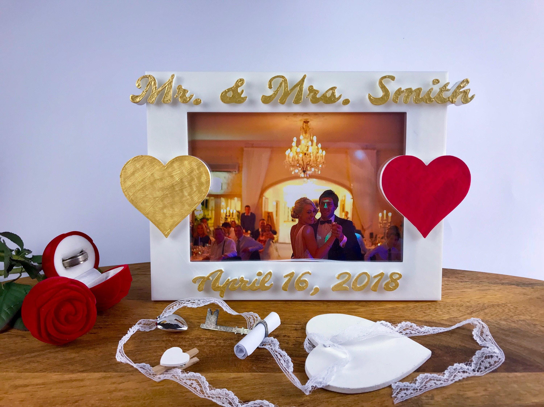Braut und Bräutigam Geschenk Hochzeits-Bilderrahmen Mutter