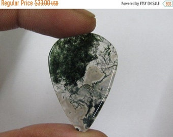 Natural Moss Agate Heart Shape Cabochon Loose GEMSTONES,Size Widht X Lenght APPROX 24X36MM New Arrival Wholesale price