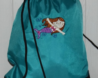 Personalised Girls Swimming Bag Beach Bag Pool Bag