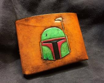 Battle damage Boba Fett Star Wars Wallet
