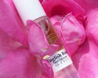 English Rose Perfume - 10ml roll on perfume oil