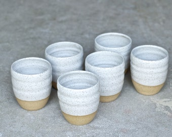 Ceramic Cup - READY TO SHIP - Handmade Pottery Mug - Ceramic Tumblers - Handmade Mug - Milk Cup - Juice Cup
