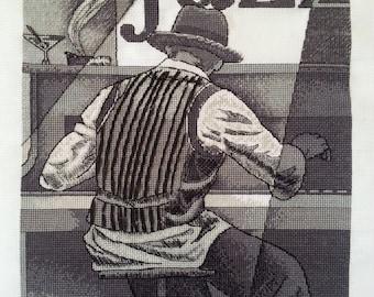 Ragtime cross-stitch
