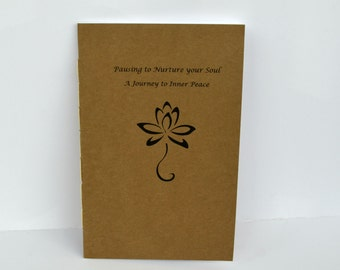 Inner Peace Zine, 24 Page zine, Self Help Zine, Mini Guide, Meditation Book, Recycled Paper Zine, Motivational Guide