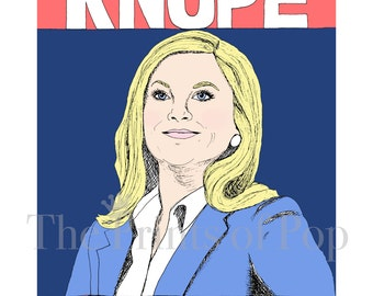 Parks & Rec-Knope 2016 Print (11x14) - FREE SHIPPING