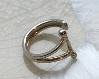 Fake Conch Piercing, Sterling Silver Ear Cuff, Fake Ear Piercing, Faux Piercing, ear cuffs no piercing, Conch Cuff, silver ear wrap - EC8068