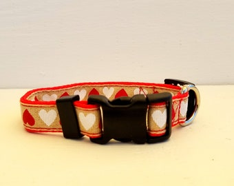 Small and Medium Collars 3/4 inch wide