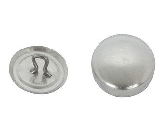 Size 20 HOOK Back Cover Buttons - 1/2 Inch (50) ON SALE