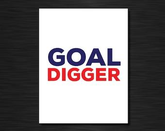 GOAL DIGGER | Just because greeting cards