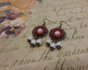 "Earrings ""Lady Isabell"""