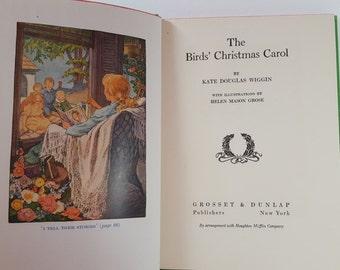 The Bird's Christmas Carol by Kate Douglas Wiggin, Hardcover, 1929