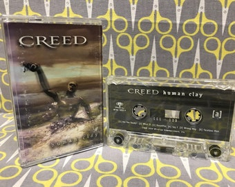 Human Clay by Creed Cassette Tape rock