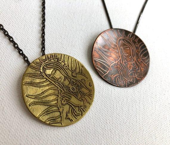 Virgin de Guadalupe pendants