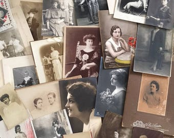 Large Vintage PHOTO COLLECTION// 103 photos