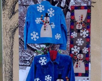 Frosty by Out On a Limb - Applique Pattern