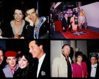 four vintage 35mm color photo slides of Liza Minnelli