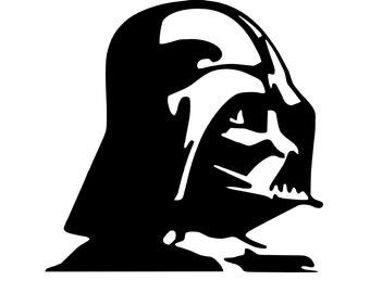 Darth Vader Decal - Star Wars Decal - Car Decal - Bumper Sticker - Nerdy Decal - Disney Decal