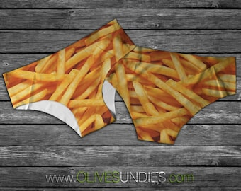 Fries Before Guys French Fry Undies / Food Knickers