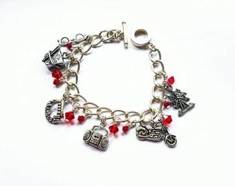 Santa Carla Charm Bracelet- inspired by The Lost Boys
