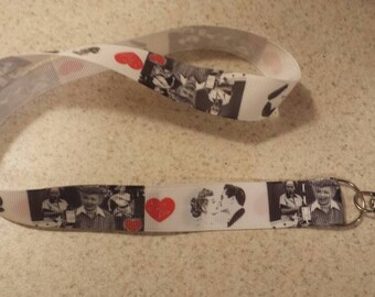 I Love Lucy Inspired Handmade Ribbon Lanyard