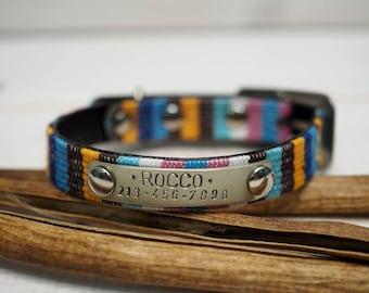 Personalized Cat Collar, Cat Collar Personalized, Cat Collar, Dog Collar Personalized, Small Dog Collar, Dog Collar With Name Plate, Kitty.