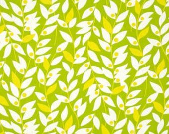 HB15 Green Free Spirit Heather Bailey Nicey Jane - Lindy Leaf Green