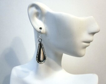 Bella's Sterling Raindrop Earrings