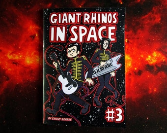 Giant Rhinos In Space #3