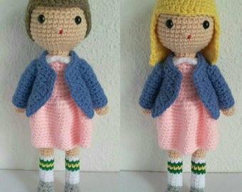 ELEVEN STRANGER THINGS  Amigurumi Pdf,  Crochet Pattern
