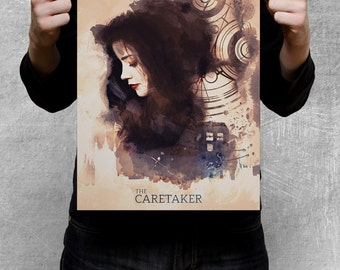 DOCTOR WHO inspired poster - The Caretaker