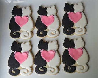love cats cookies