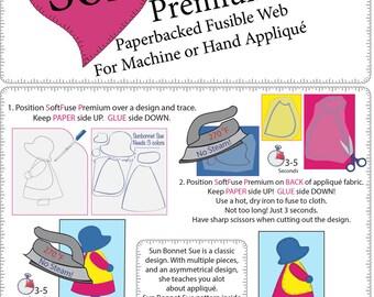 Soft Fuse Premium Fusible Web - 10 (8x9) sheets