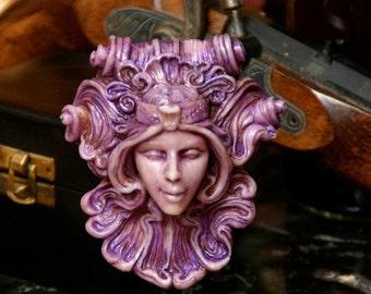 Antigone Medallion - Purple