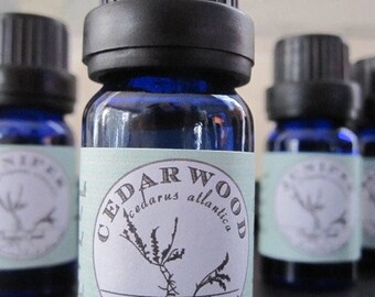 Cedarwood Essential Oil - Aromatherapy - Essential Oil - Essential Oils