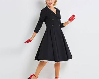 Vintage dress style 50's