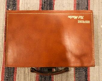 Vintage Leather Amprobe Men's Accessories Dresser Box
