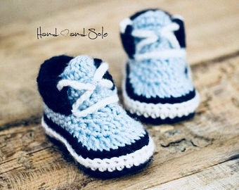 Crochet Pattern, Crochet Booties Pattern, Baby Booties Pattern, Crochet Baby Booties Pattern, Crochet Sneaker Pattern for Baby Boy
