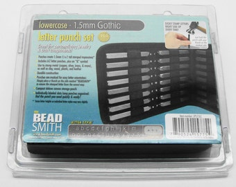 1.5mm Gothic Lowercase Punch Set 27 Pc.