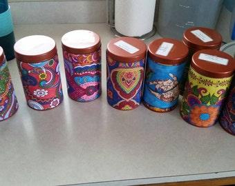 Decorative Tea Tin
