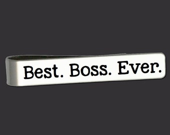 Tie Clip | Tie Bar | Boss Gifts | Gifts for Boss | Gift Ideas for Boss | Boss Gifts | Custom Tie Bar | Korena Loves
