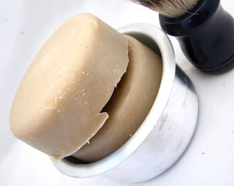 Country Apple Goats Milk Shaving Soap 4oz- All Natural Soap, Homemade Soap, Handmade Soap, Handcrafted Soap, Goats Milk Soap, Cold Processed