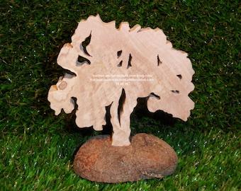"""Petit chatel"" wooden tree"
