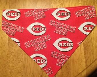 Cincinnati Reds Baseball Pet Bandana, Scarf