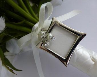 Bridal Photo Memory Memorial Charm Frame
