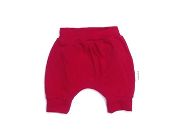 Scalable short pants, evolutionary shorts style harem pants, red, pink, black or Navy