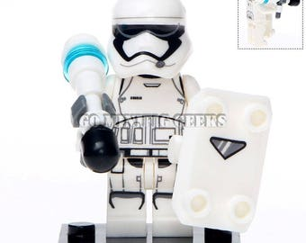 Custom First Order Stormtrooper Minifigure Star Wars Fits Lego UK Seller