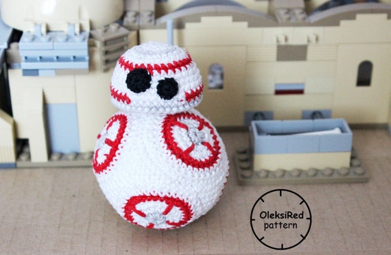 Amigurumi Star Wars Patterns : Star wars crochet pattern droid bb8 amigurumi pattern